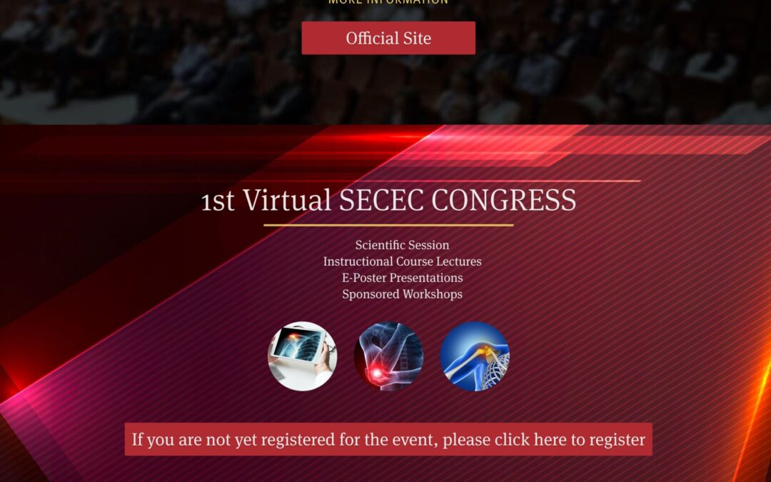 European Society For Surgery Of The Shoulder And The Elbow Congress 2021 (SECEC 2021); 1st Virtual SECEC CONGRESS; Poznań, Poland Sept. 15, 2021 – Sept. 18, 2021